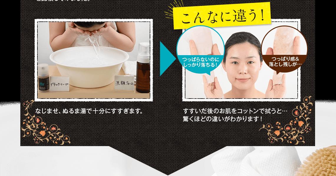 お手持ちの基礎化粧品で、お肌のお手入れを行って下さい。