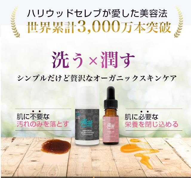 エステティシャンも認める美容法。世界累計2400万個販売実績!「洗う」「潤す」まるでエステ級